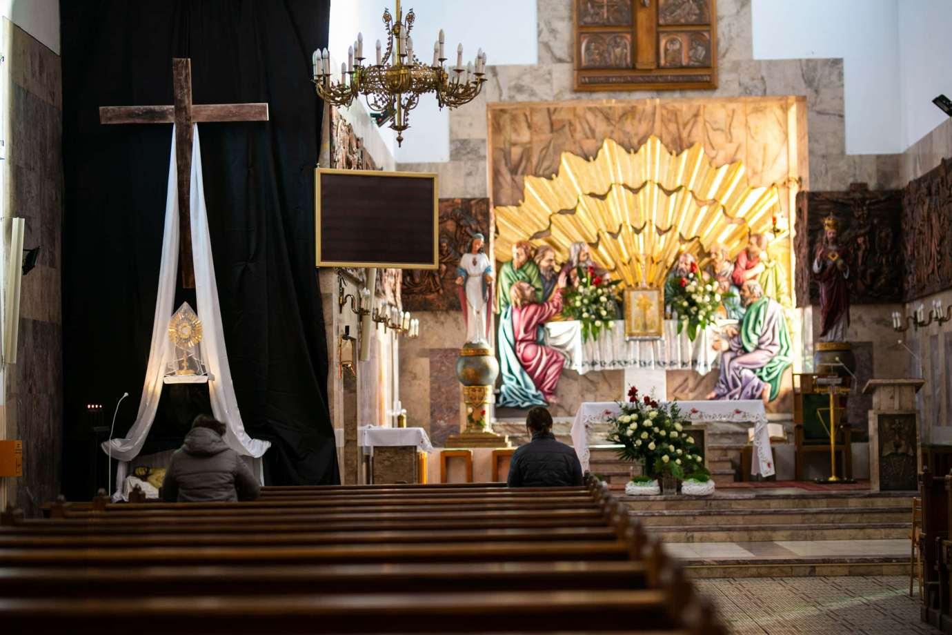 parafia pw swietego krzyza w zamosciu 12 Zdjęcia grobów pańskich w zamojskich świątyniach
