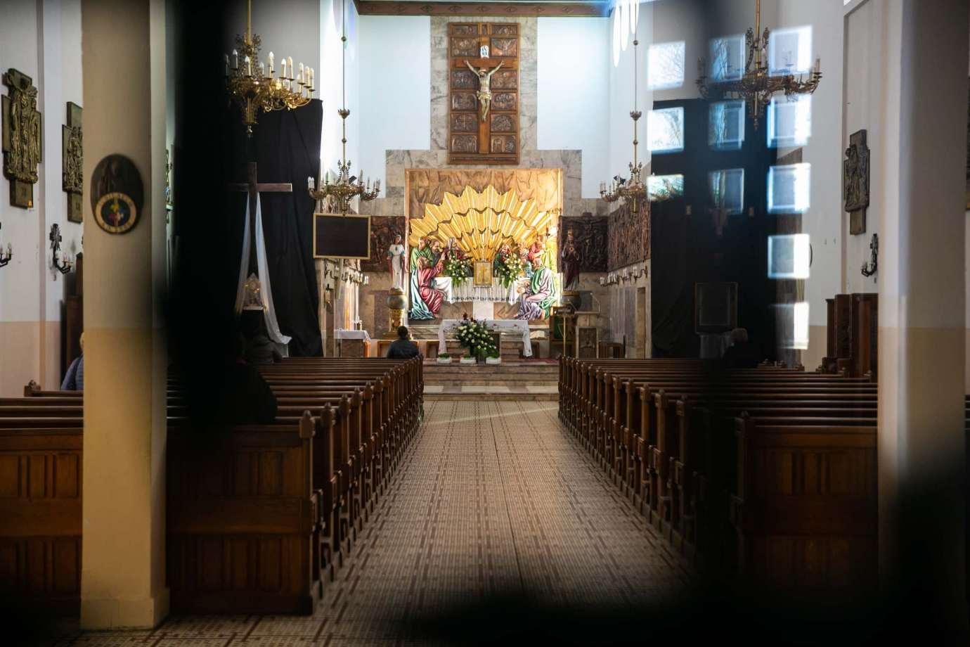 parafia pw swietego krzyza w zamosciu 3 Zdjęcia grobów pańskich w zamojskich świątyniach