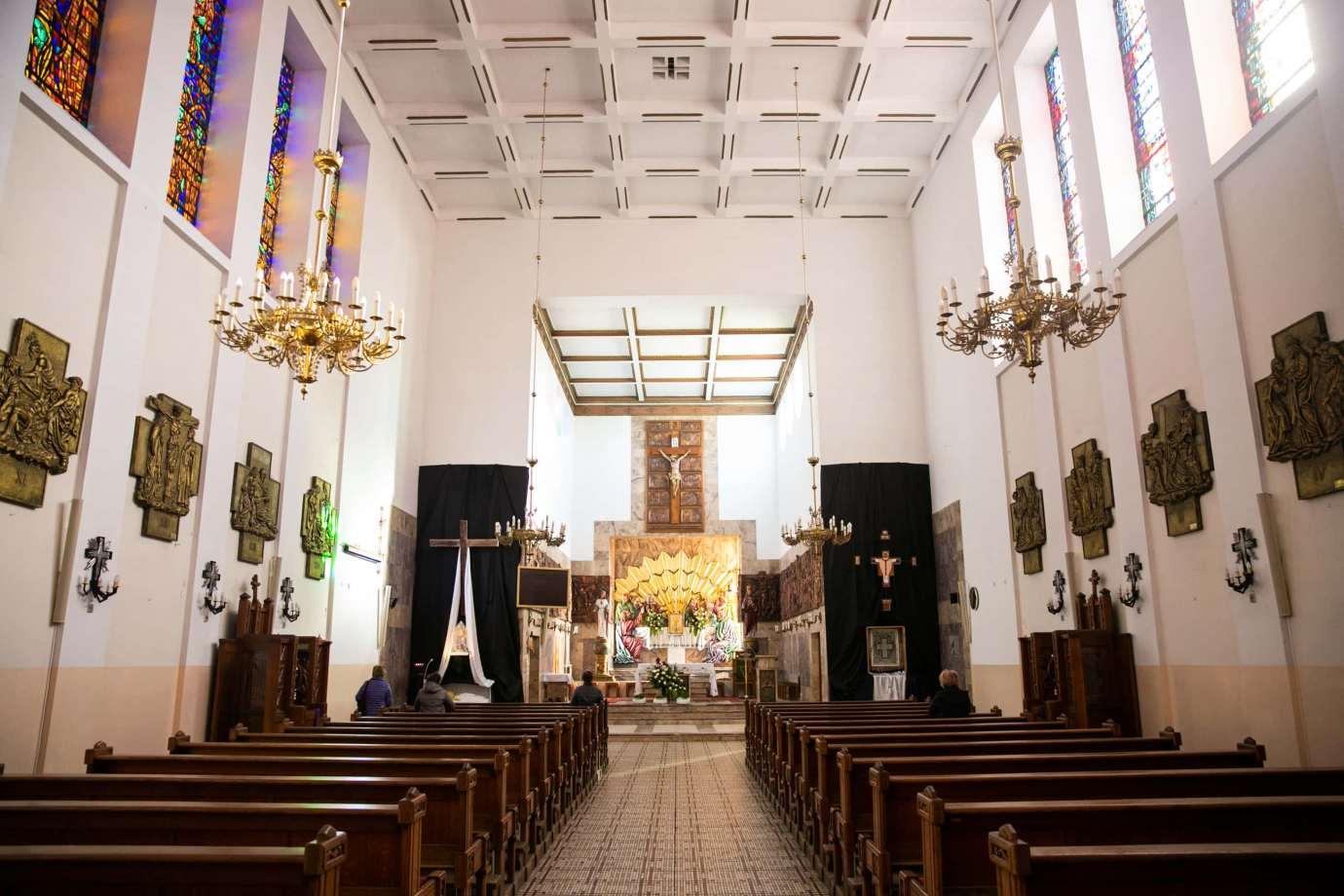 parafia pw swietego krzyza w zamosciu 4 Zdjęcia grobów pańskich w zamojskich świątyniach