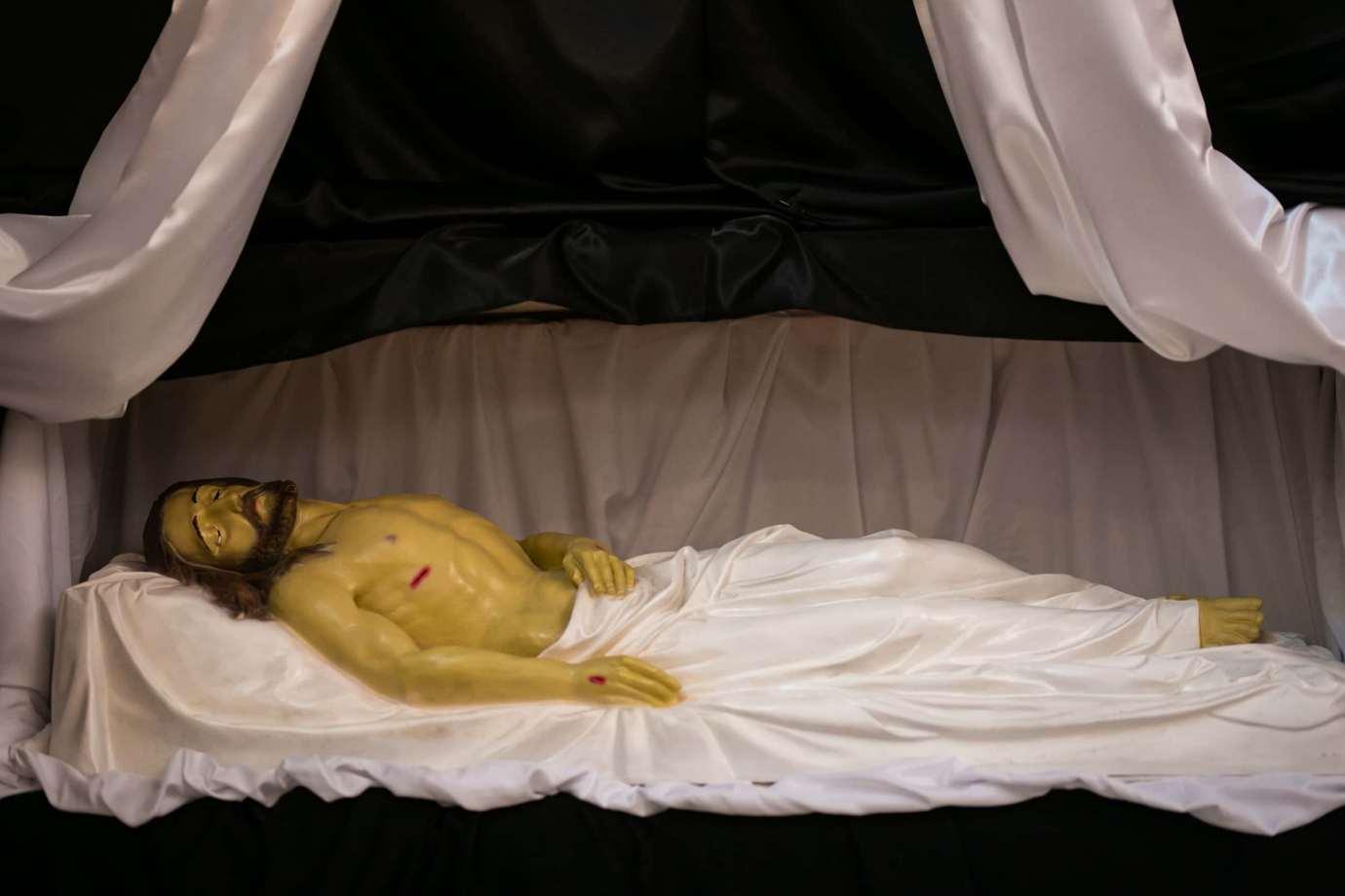 parafia pw swietego krzyza w zamosciu 4a 1 Zdjęcia grobów pańskich w zamojskich świątyniach