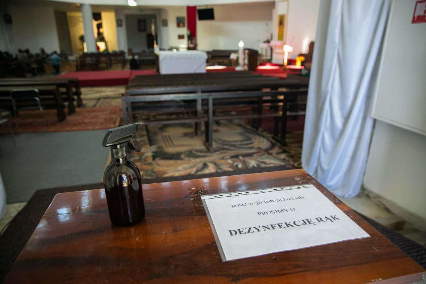 parafia pw swietej bozej opatrznosci w zamosciu 2 Zdjęcia grobów pańskich w zamojskich świątyniach