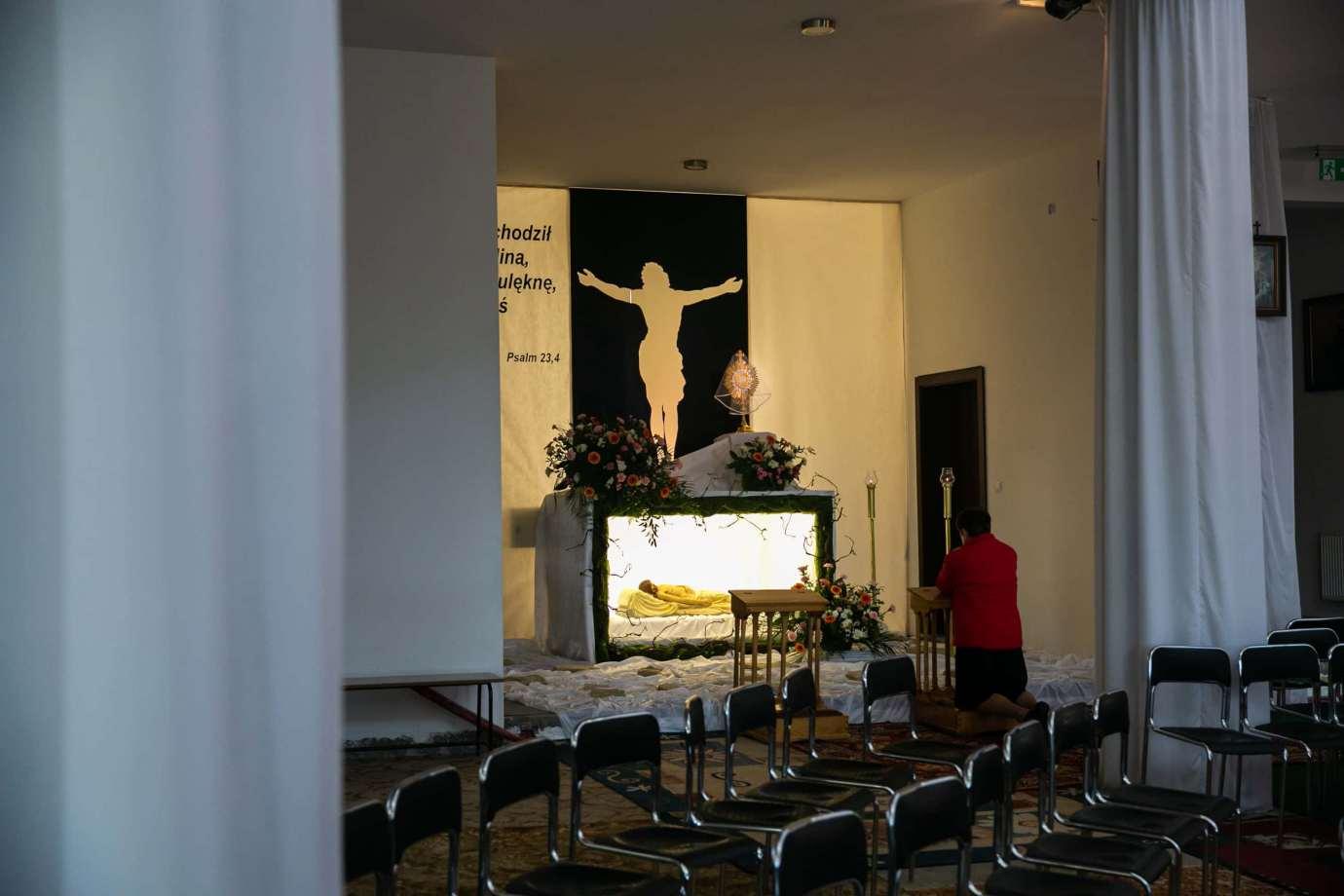 parafia pw swietej bozej opatrznosci w zamosciu 3 Zdjęcia grobów pańskich w zamojskich świątyniach