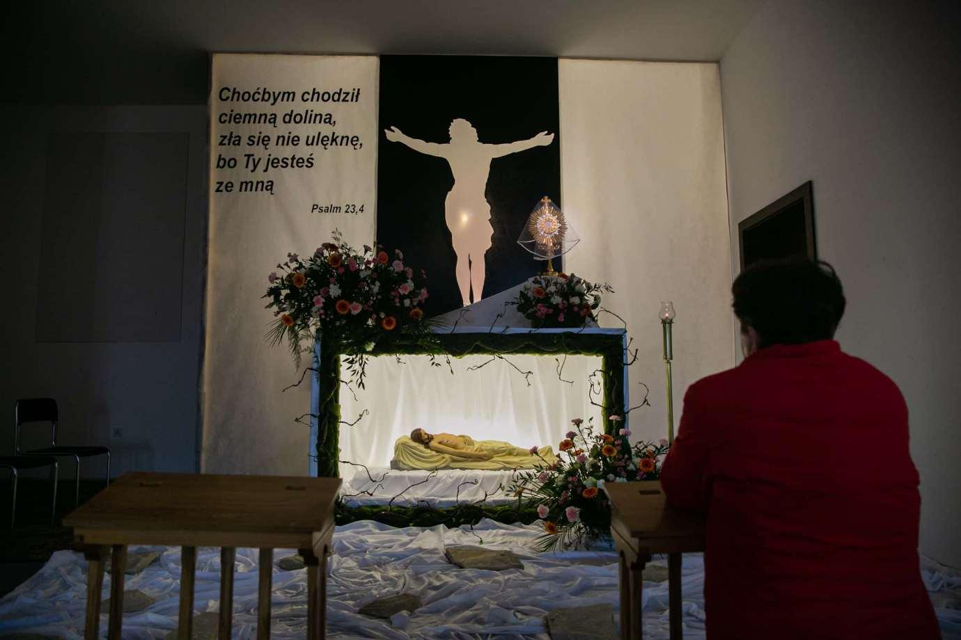 parafia pw swietej bozej opatrznosci w zamosciu 5 Zdjęcia grobów pańskich w zamojskich świątyniach