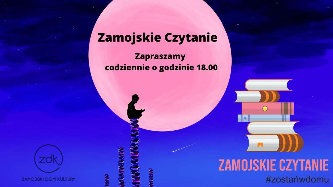 plansza relacja 1 Witold Paszt gościem Zamojskiego Czytania
