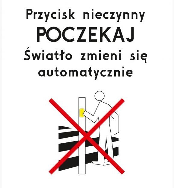 przejscie Zamość: Wyłączą przyciski na przejściach dla pieszych
