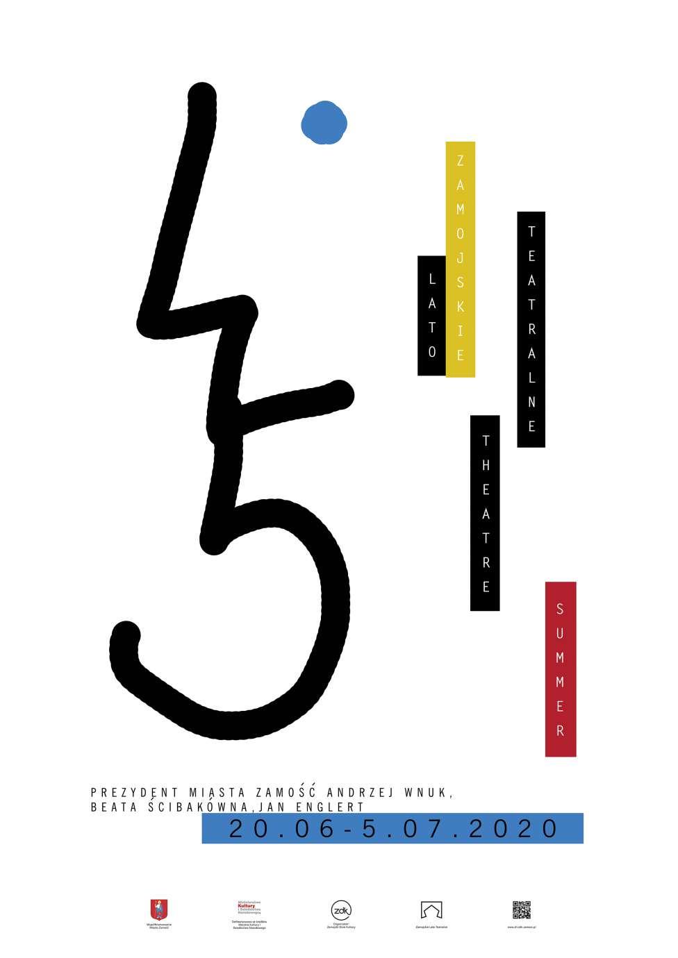 siemko alicja 1 wyroznienie Rozstrzygnięto konkurs na plakat 45. Zamojskiego Lata Teatralnego