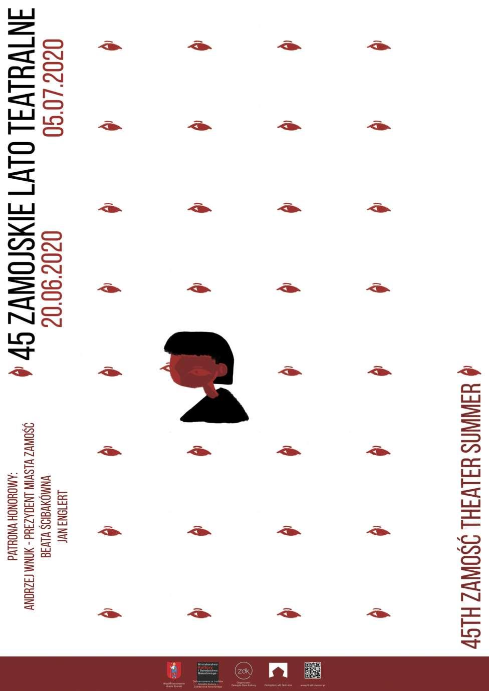 sumina kateryna 1 wyroznienie Rozstrzygnięto konkurs na plakat 45. Zamojskiego Lata Teatralnego