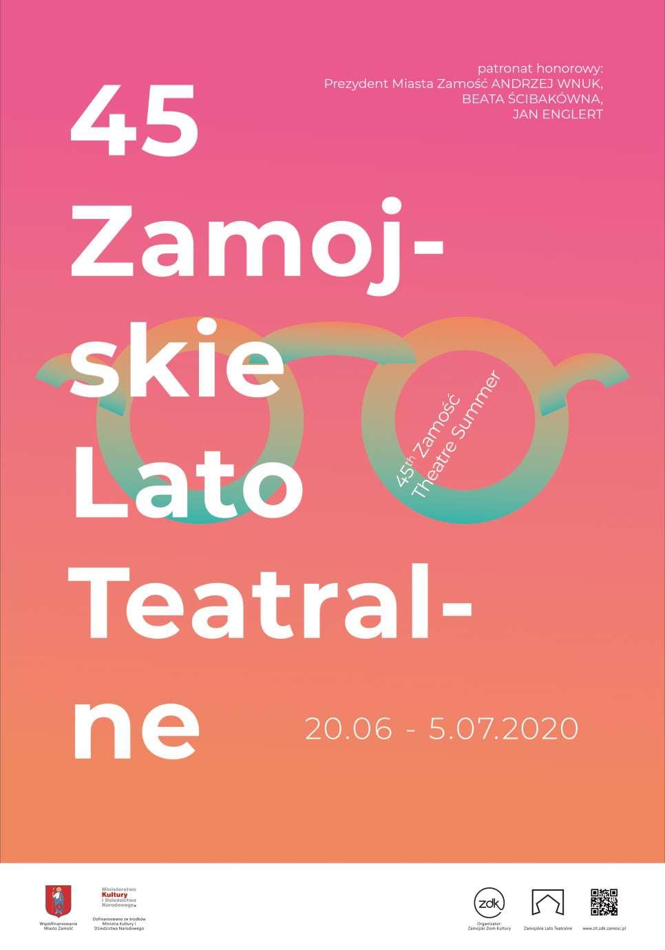 szewczyk piotr wyroznienie Rozstrzygnięto konkurs na plakat 45. Zamojskiego Lata Teatralnego