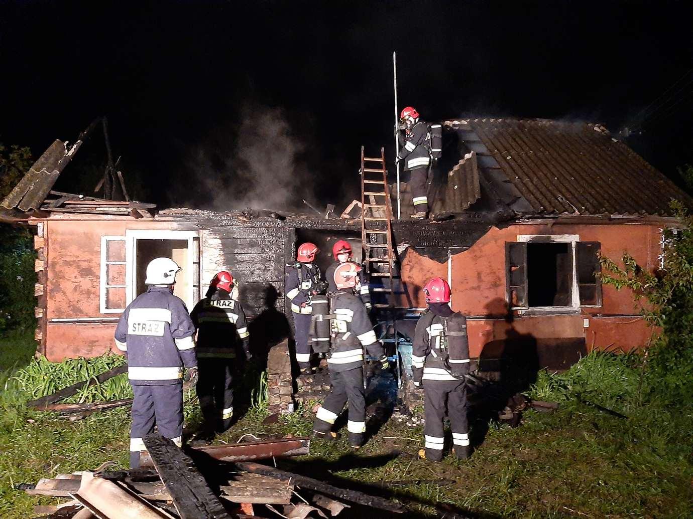 20200528 002740 Kolejny tragiczny w skutkach pożar domu. Nie żyje mężczyzna