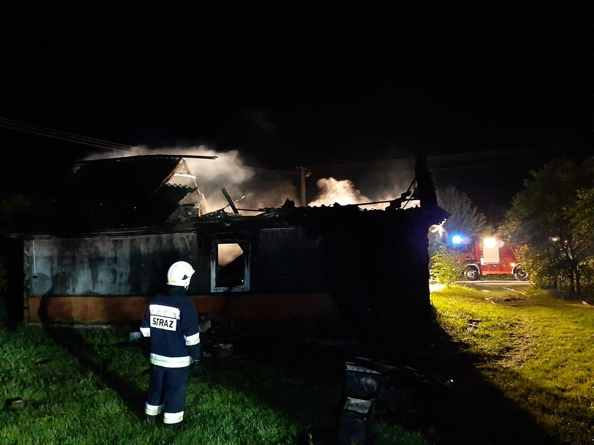 20200528 003136 Kolejny tragiczny w skutkach pożar domu. Nie żyje mężczyzna