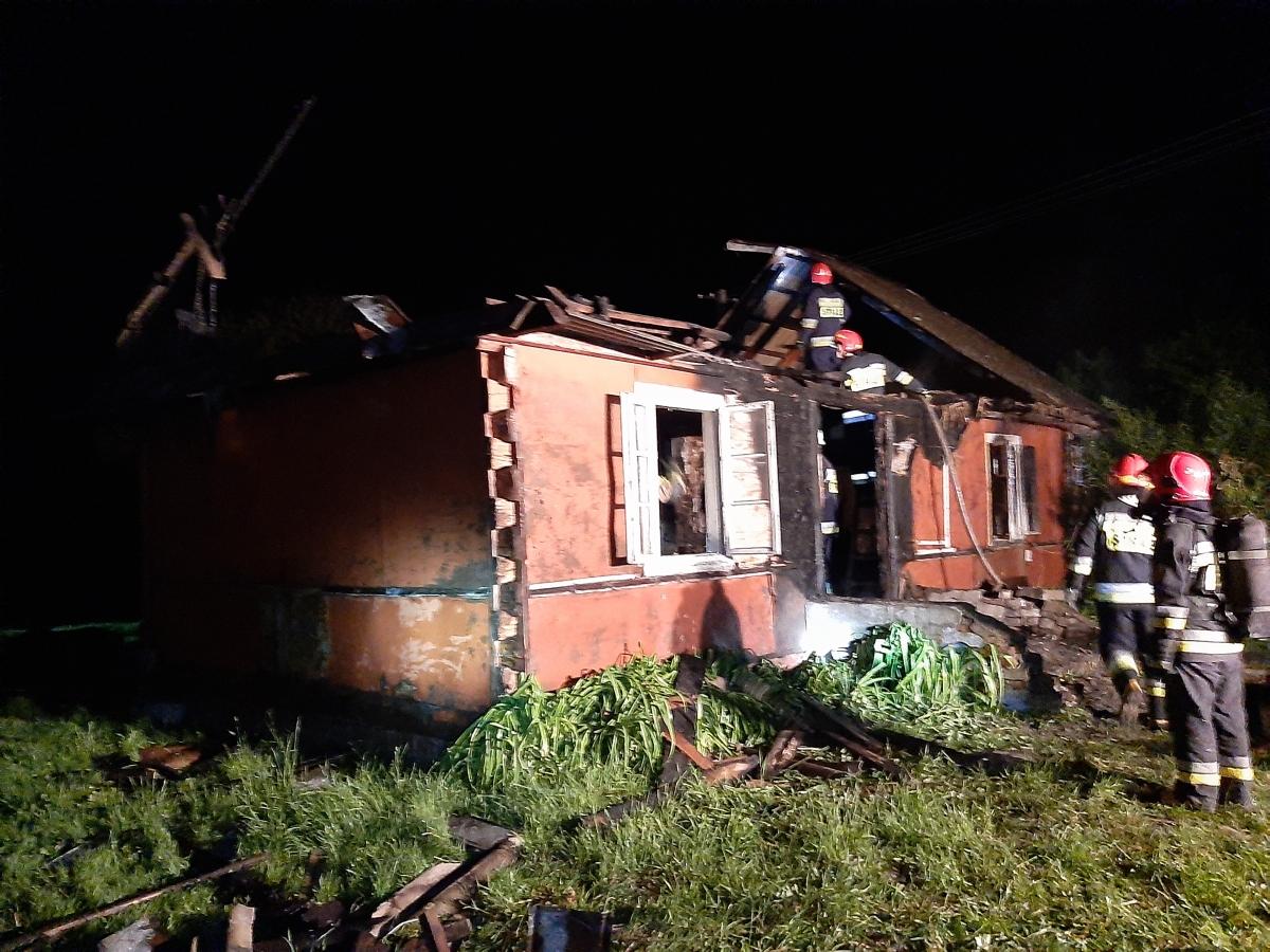 20200528 004922 Kolejny tragiczny w skutkach pożar domu. Nie żyje mężczyzna