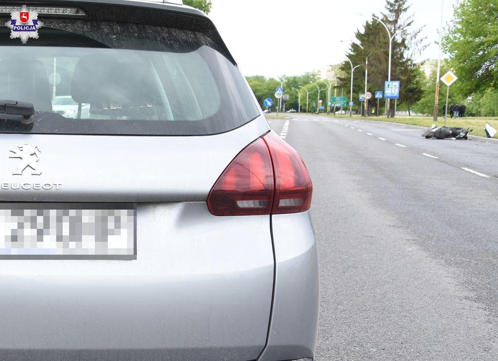68 168154 Zamość, Łabunie: Groźne wypadki z udziałem motorowerzystów