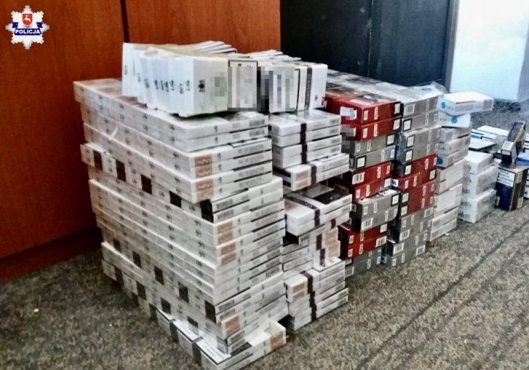56-latka odpowie za posiadanie 9 000 sztuk papierosów