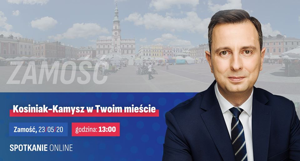 98845143 1312889285584880 2466163280696049664 o Władysław Kosiniak - Kamysz. Spotkanie online z mieszkańcami Zamościa