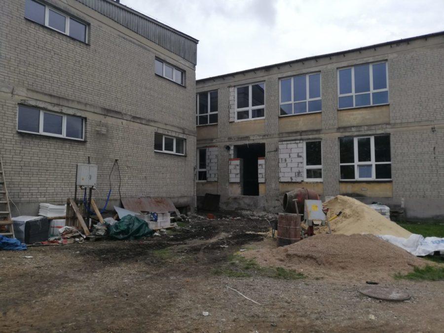 img 20200515 105643 scaled e1589807481952 Szkoła w Bodaczowie zmieni oblicze. Ruszyła termomodernizacja budynku