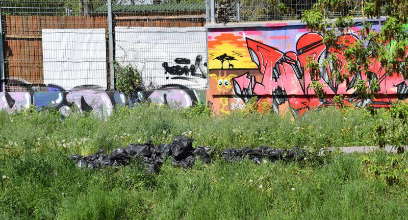 lab 2 Rzeka pełna śmieci. Ruszyło wielkie sprzątanie Łabuńki.