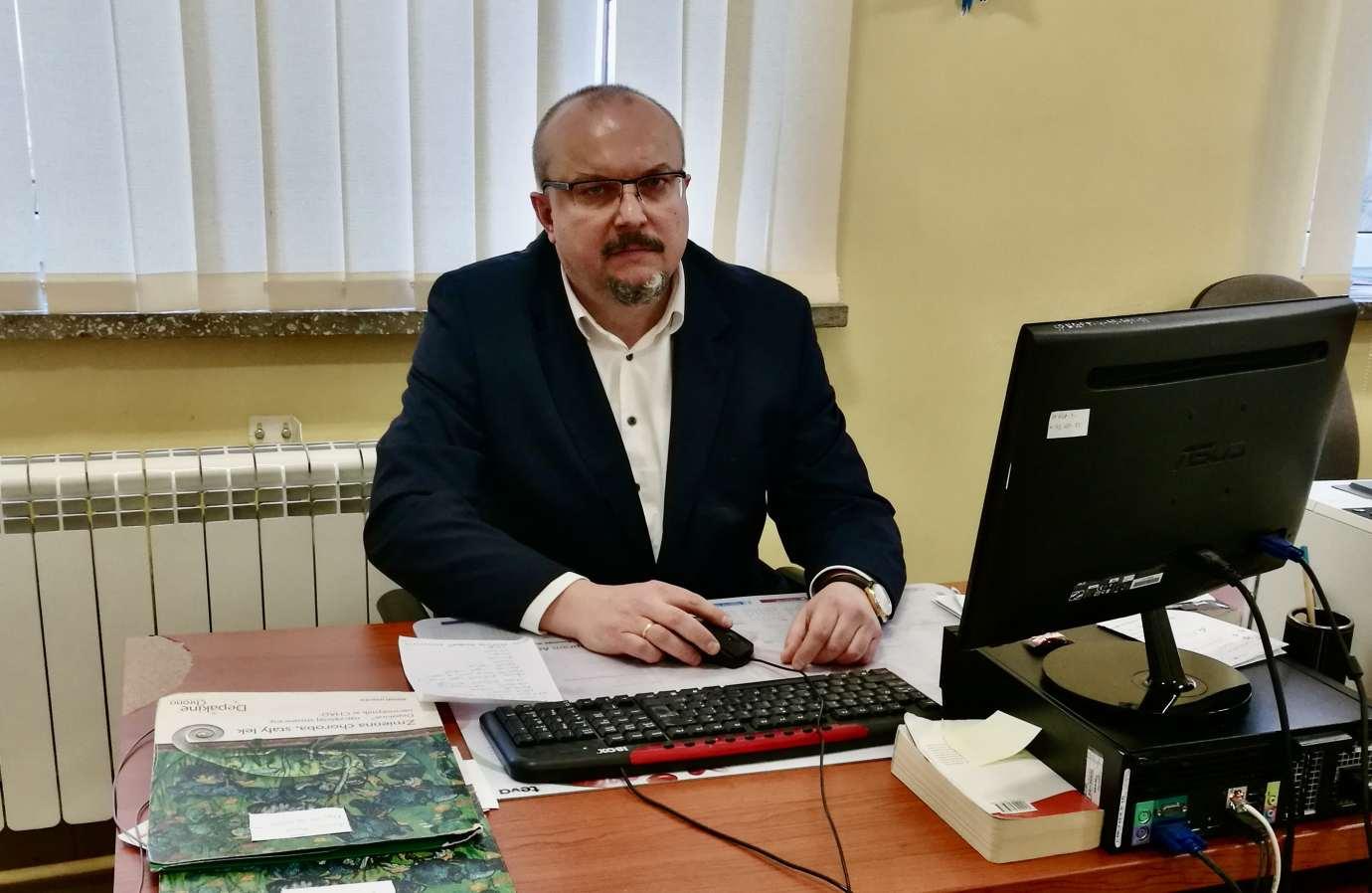 lukasz lobejko Szpital Psychiatryczny w Radecznicy ma nowego dyrektora