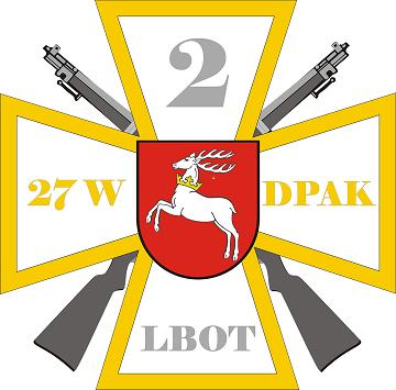 odznaka 2 lbot Święto 2 Lubelskiej Brygady Obrony Terytorialnej