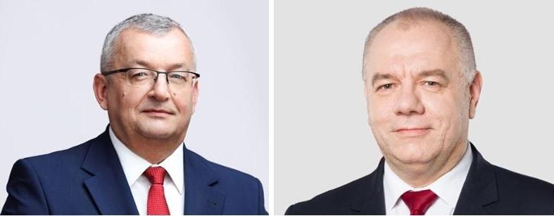 sasin adamczyk Jacek Sasin i Andrzej Adamczyk z wizytą w Zamościu