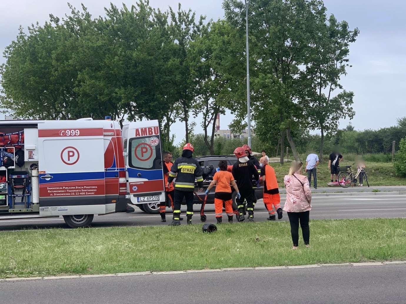 102661807 668075934032279 4066104094369019386 n Ku przestrodze publikujemy nagranie WIDEO z niedzielnego wypadku na Wyszyńskiego. Obejrzyjcie jako przestrogę.