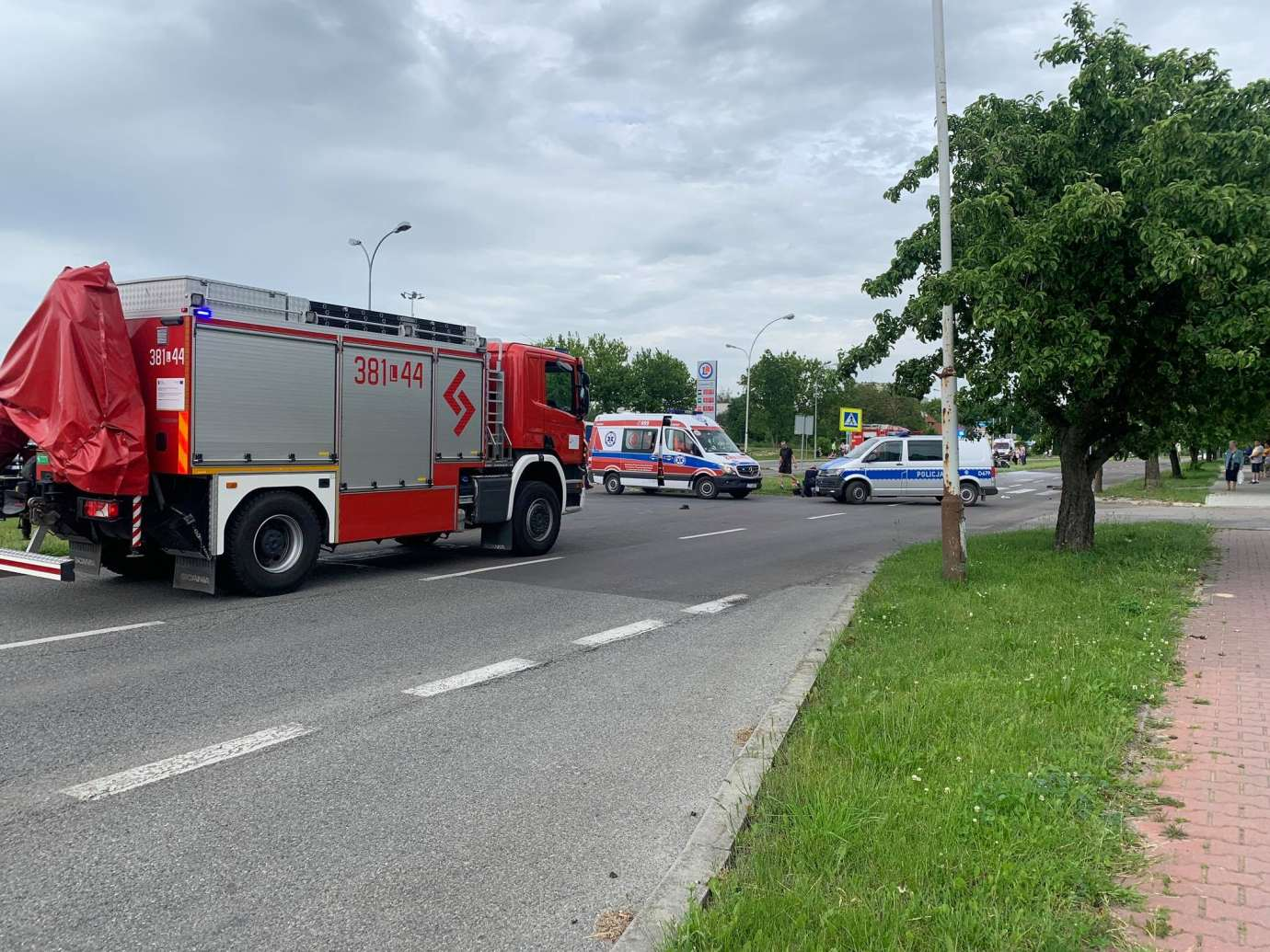 102902852 884895961978392 6745524386576571023 n Ku przestrodze publikujemy nagranie WIDEO z niedzielnego wypadku na Wyszyńskiego. Obejrzyjcie jako przestrogę.