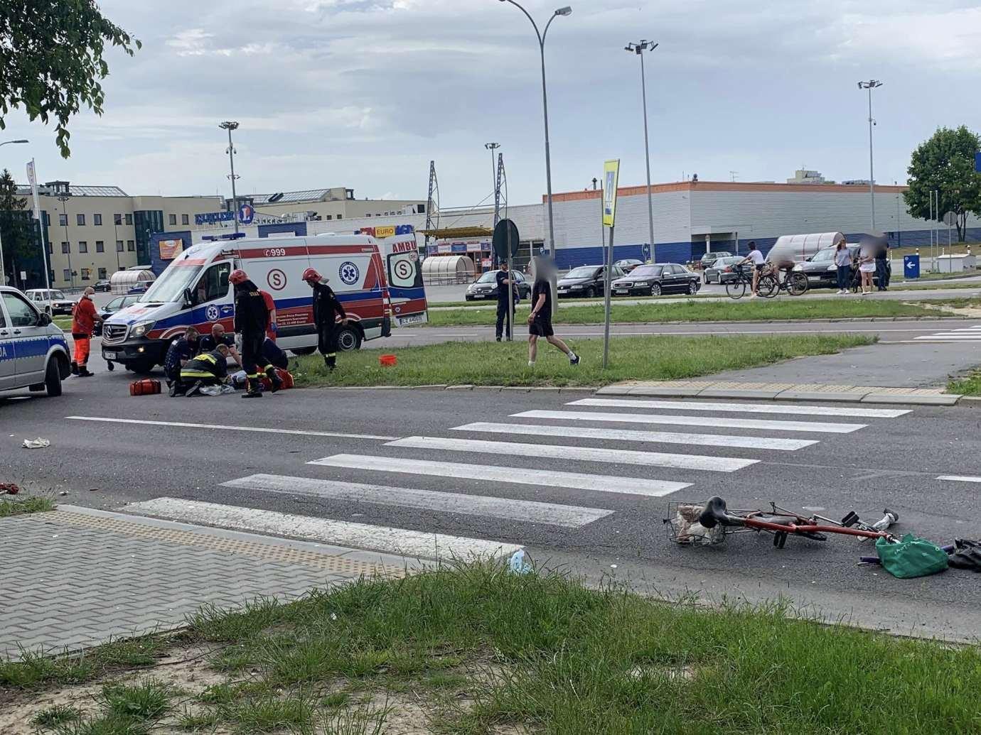 103076071 2690117031310510 563731417186073129 n Ku przestrodze publikujemy nagranie WIDEO z niedzielnego wypadku na Wyszyńskiego. Obejrzyjcie jako przestrogę.