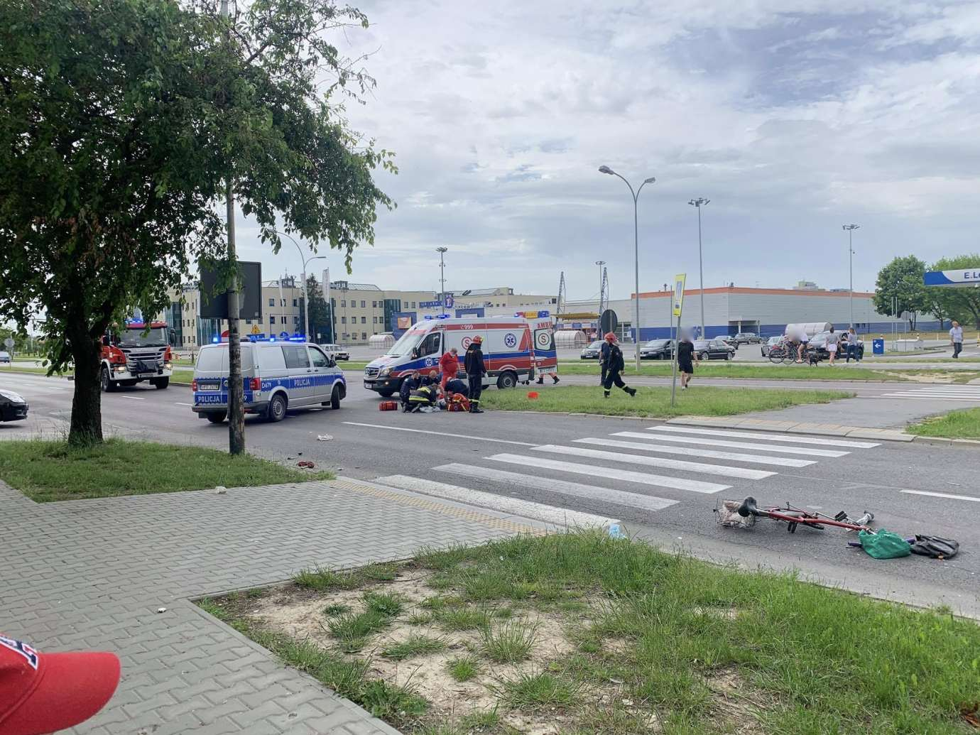 103081650 281810203094712 2301286303449475302 n Ku przestrodze publikujemy nagranie WIDEO z niedzielnego wypadku na Wyszyńskiego. Obejrzyjcie jako przestrogę.