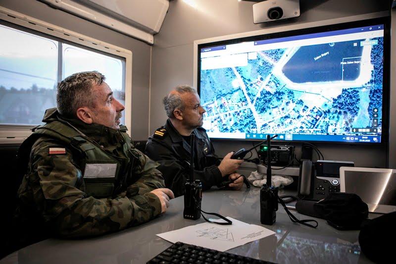 2 lbot bilgoraj 5 Żołnierze 2 LBOT wspierają służby w przeciwdziałaniu podtopieniom w gminie Biłgoraj