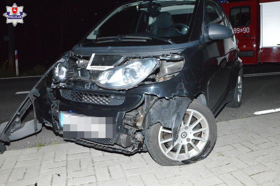 68 168396 Wypadek z udziałem motocyklisty