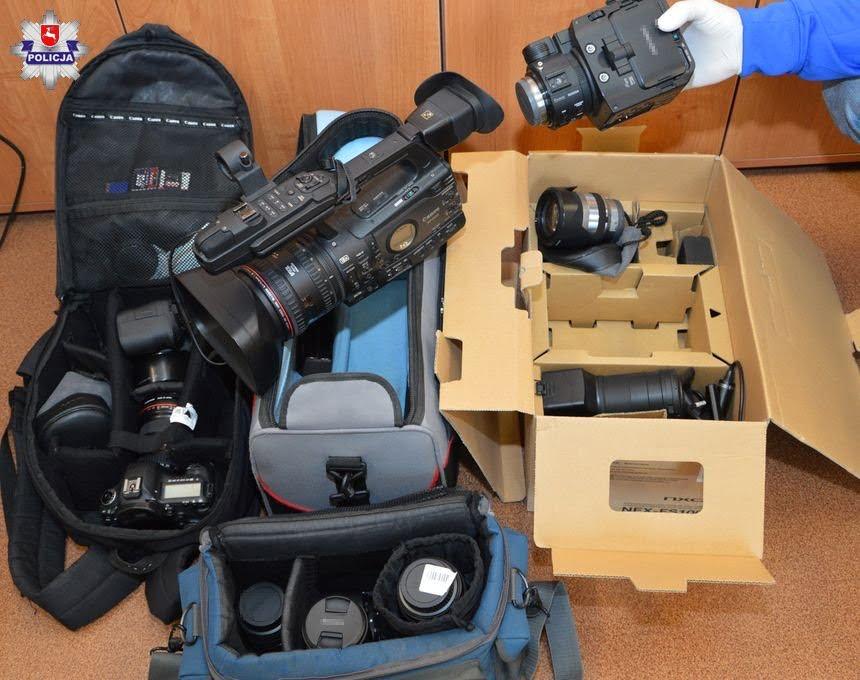 68 168565 Zastawił w lombardzie pożyczoną kamerę i aparaty fotograficzne o wartości 45 000