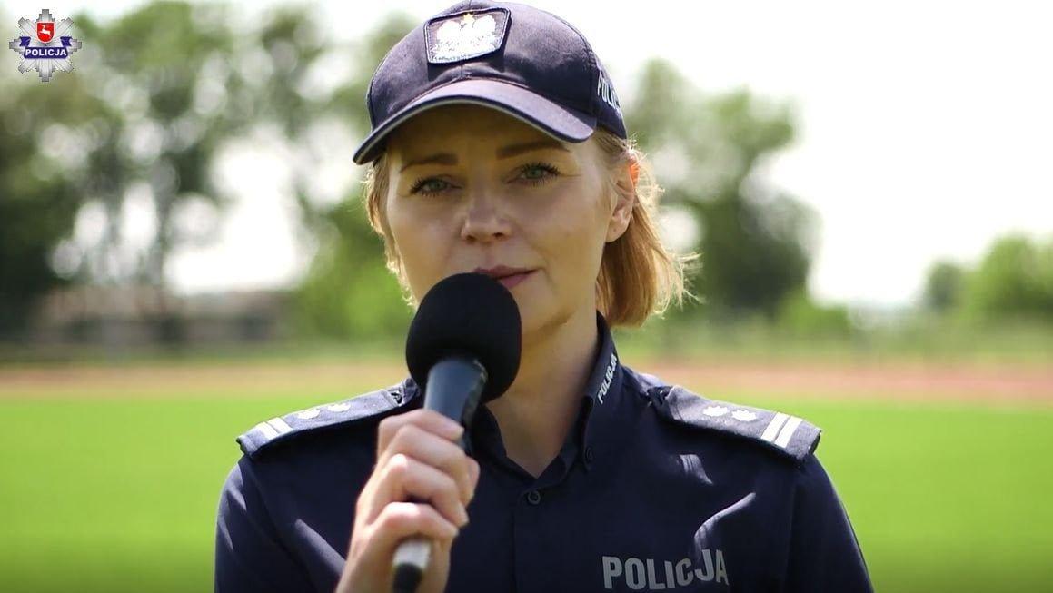 68 169095 Hrubieszowscy policjanci także przyłączyli się do akcji #GaszynChallenge [ZOBACZ WIDEO]