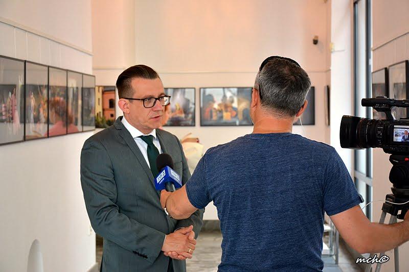 c20 9481 Otwarcie wystawy Stanisława Orłowskiego