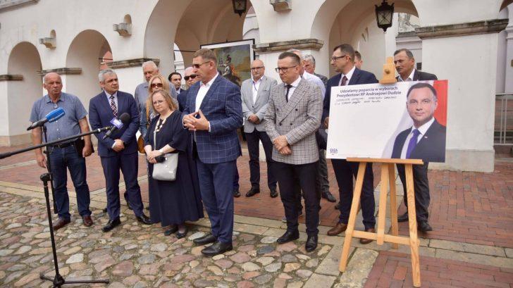 dsc 7770 Zamość: Udzielili poparcia prezydentowi Andrzejowi Dudzie