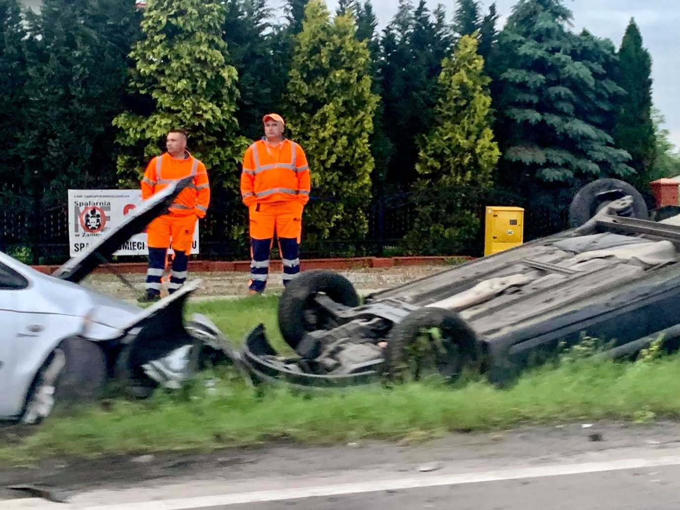 img 1504 Z ostatniej chwili: wypadek w Kalinowicach (zdjęcia)