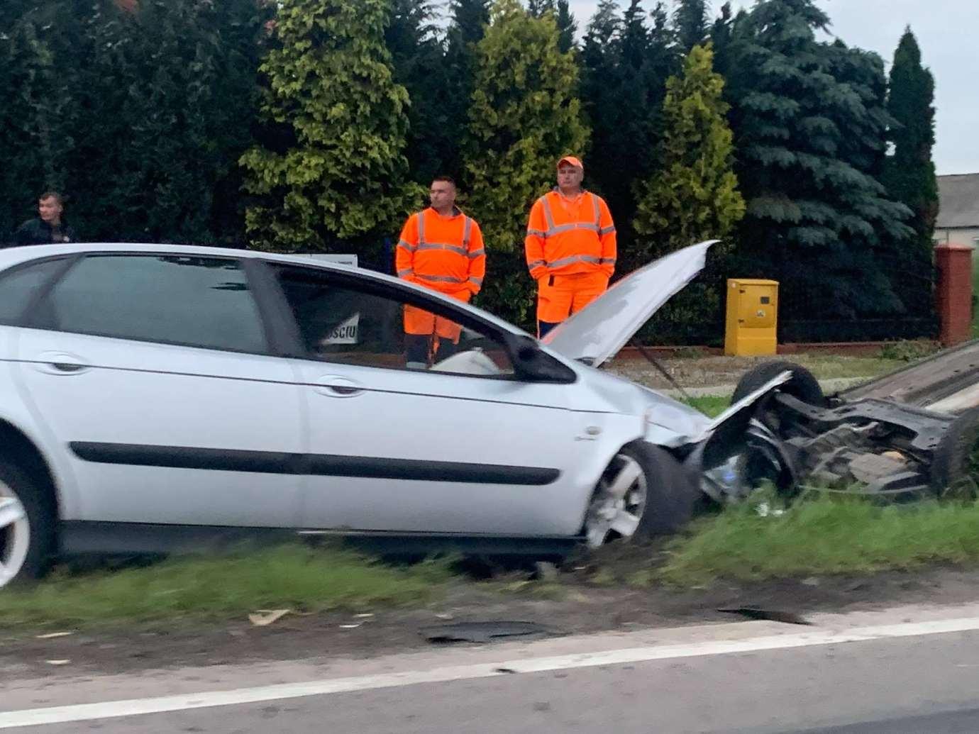 img 1505 Z ostatniej chwili: wypadek w Kalinowicach (zdjęcia)