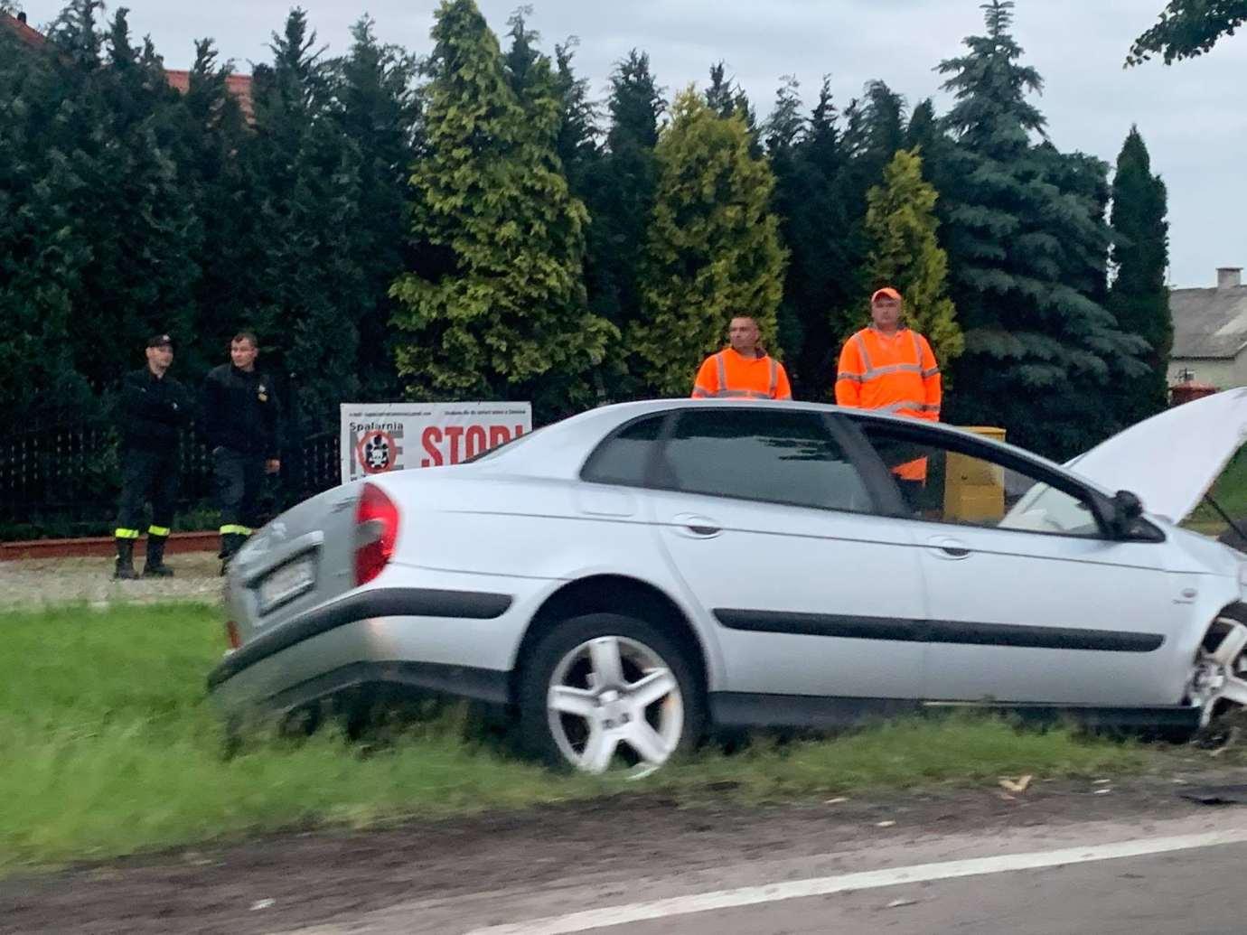 img 1506 Z ostatniej chwili: wypadek w Kalinowicach (zdjęcia)