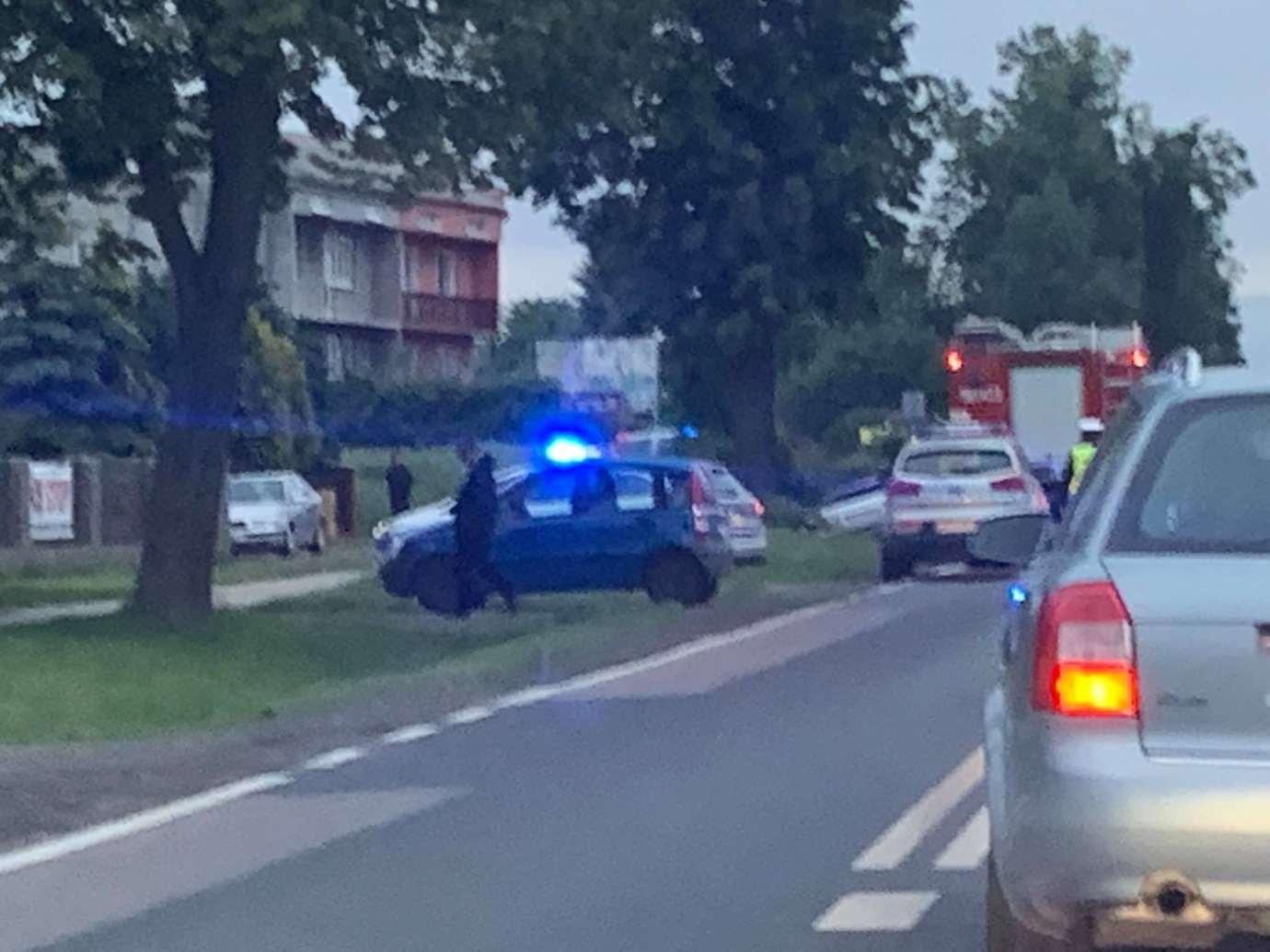 img 1507 Z ostatniej chwili: wypadek w Kalinowicach (zdjęcia)