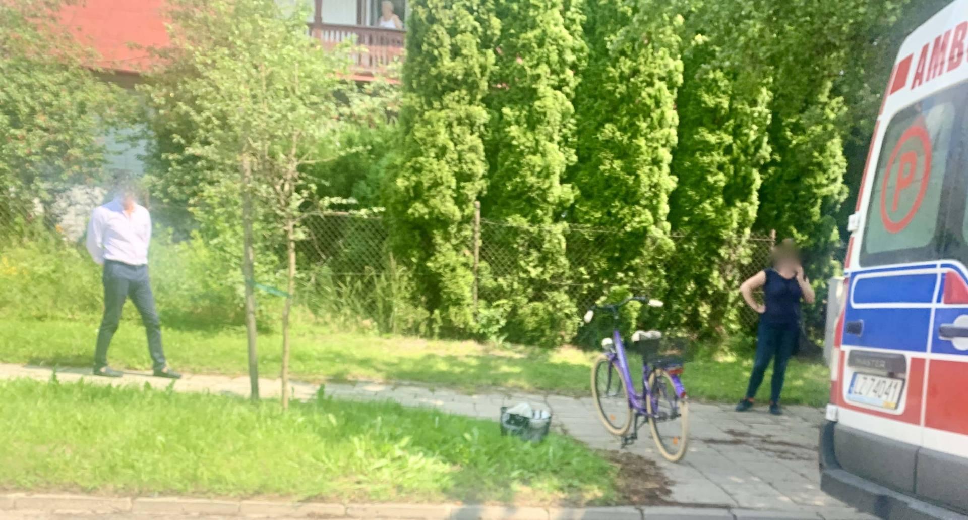 img 1537 Z ostatniej chwili: Potrącenie rowerzystki przez motocyklistę (zdjęcia)
