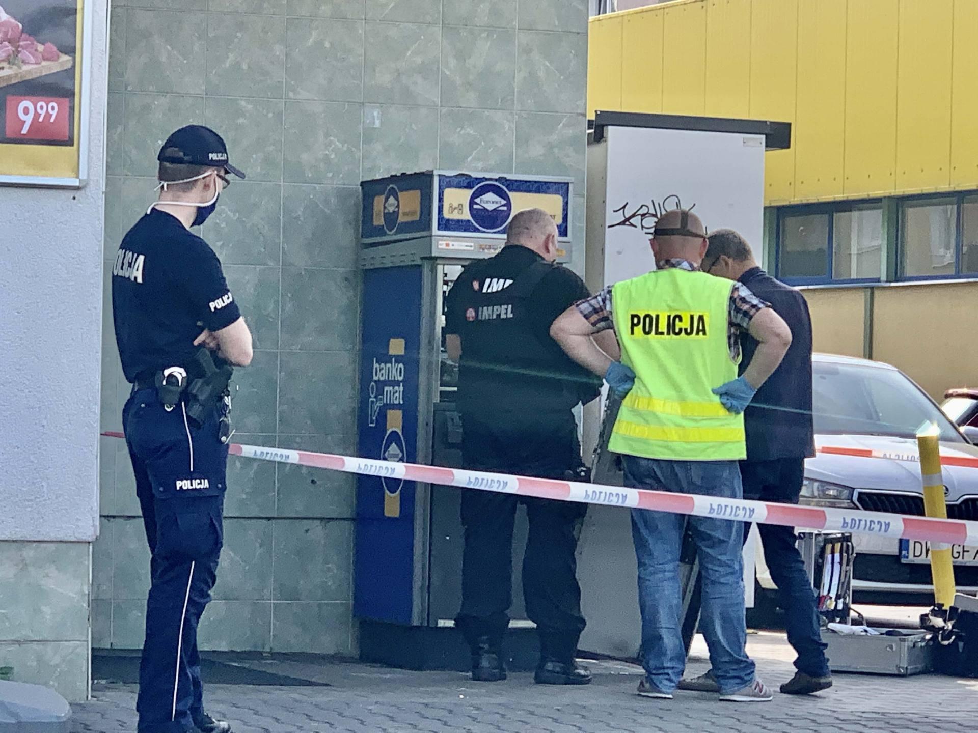 img 1848 Zamość: Nocny napad na bankomat przy ul. Piłsudskiego [ZDJĘCIA]