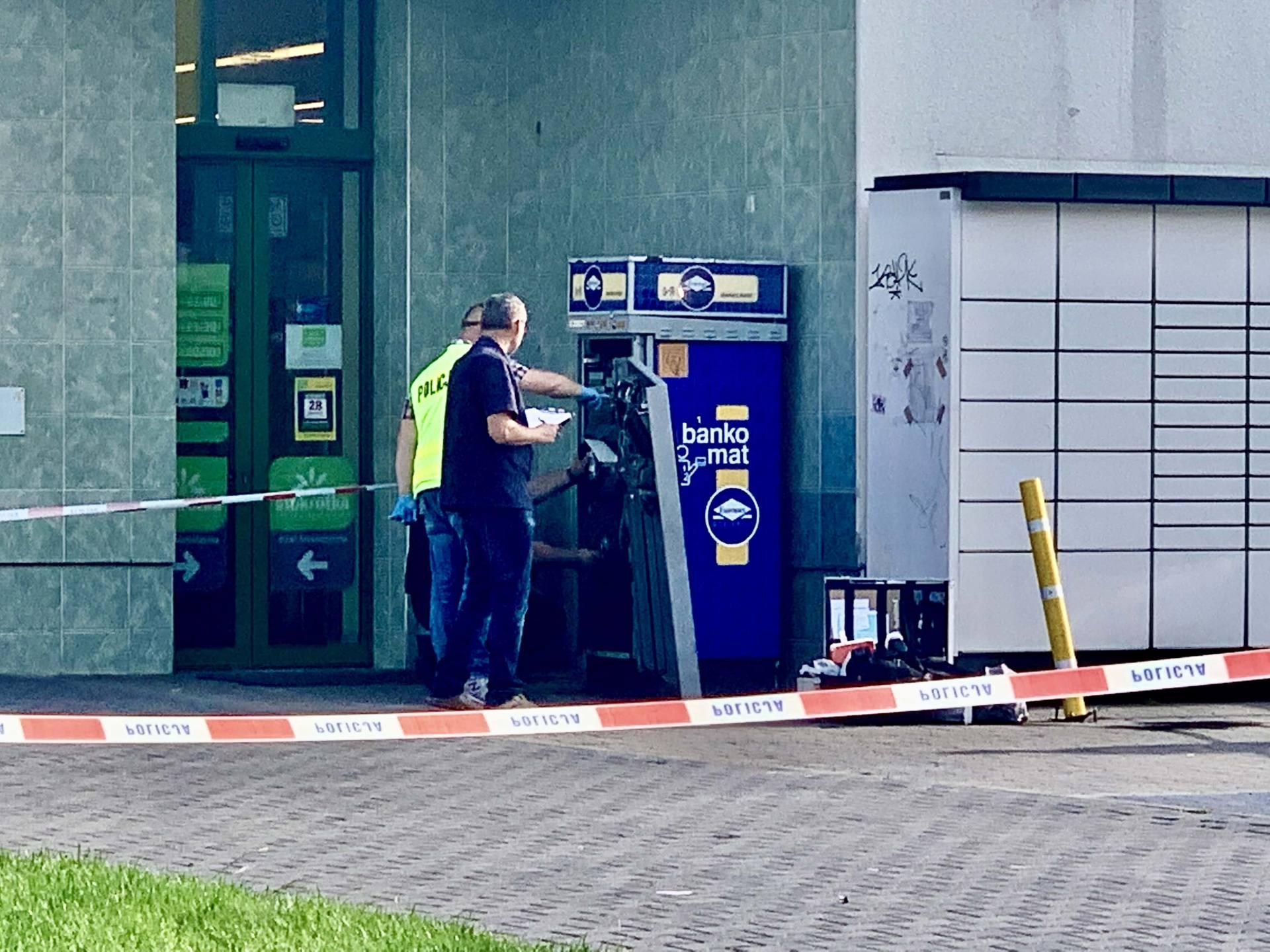 img 5727 Zamość: Nocny napad na bankomat przy ul. Piłsudskiego [ZDJĘCIA]