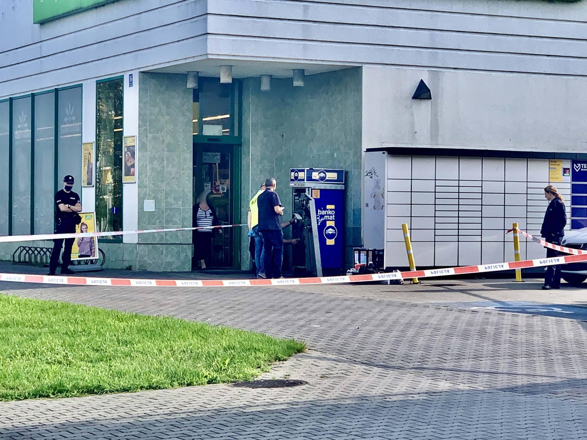 img 7288 Zamość: Nocny napad na bankomat przy ul. Piłsudskiego [ZDJĘCIA]