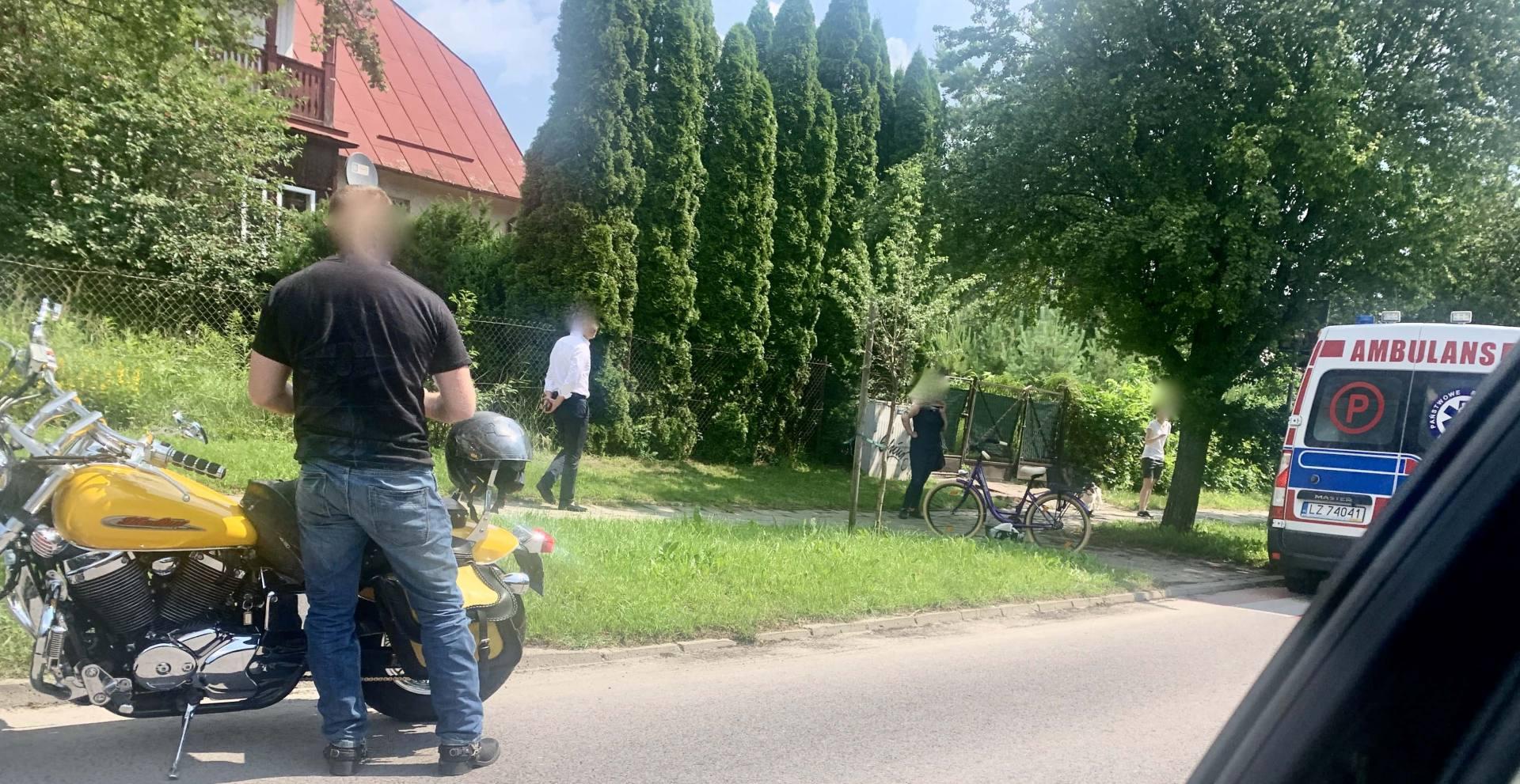 img 8396 Z ostatniej chwili: Potrącenie rowerzystki przez motocyklistę (zdjęcia)