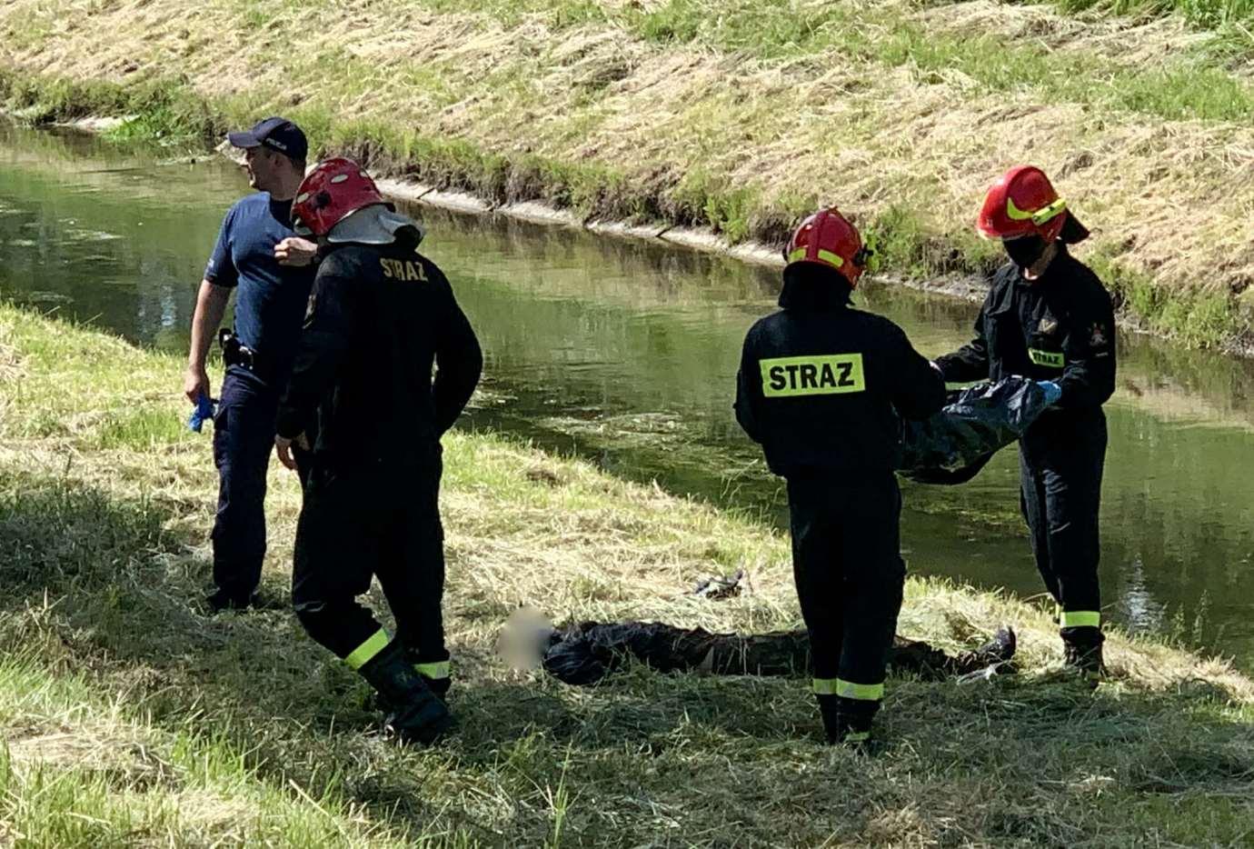 img 9378 2 W Łabuńce znaleziono ciało mężczyzny