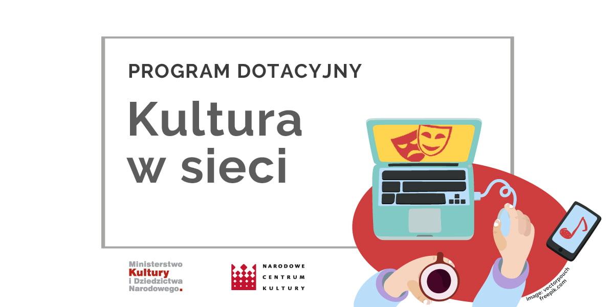 """nabor 1200x600 kultura w sieci prdot Projekt """"Wirtualizacja zasobów muzealnych w Muzeum Zamojskim"""" z ministerialnym dofinansowaniem"""