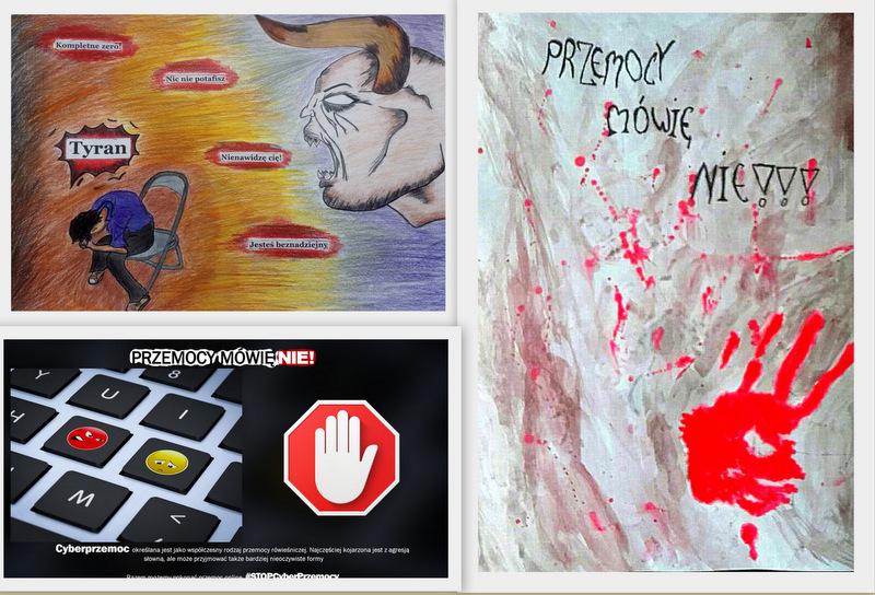 zdj 3 Przemocy mówią NIE! Wyrazili to poprzez sztukę