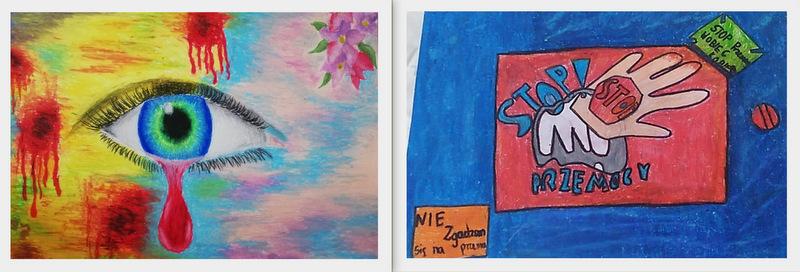 zdj 8 Przemocy mówią NIE! Wyrazili to poprzez sztukę