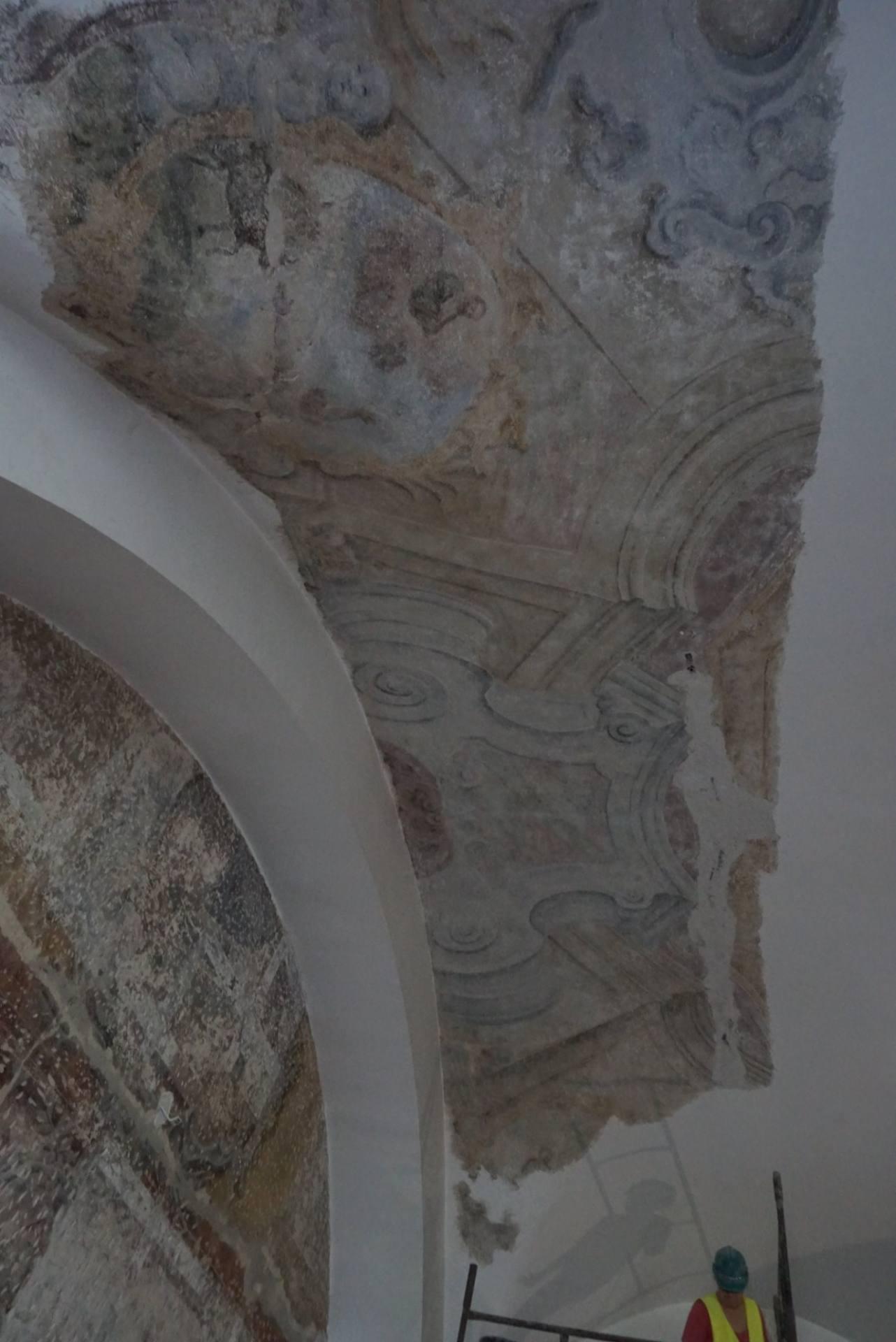 106349469 318366816223520 6360072074434009293 o Zamość: Skarb ukryty pod tynkiem. Cenne znalezisko na ścianach remontowanej Akademii Zamojskiej [ZDJĘCIA]