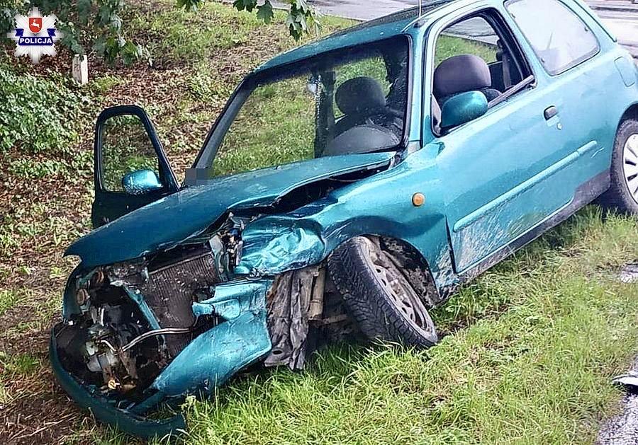 68 170501 Zderzenie Nissana z Audi i Hondy z ciężarówką Volvo(zdjęcia)