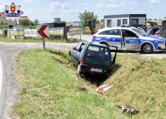 68 171777 88-letni kierowca Daewoo stracił panowanie nad pojazdem