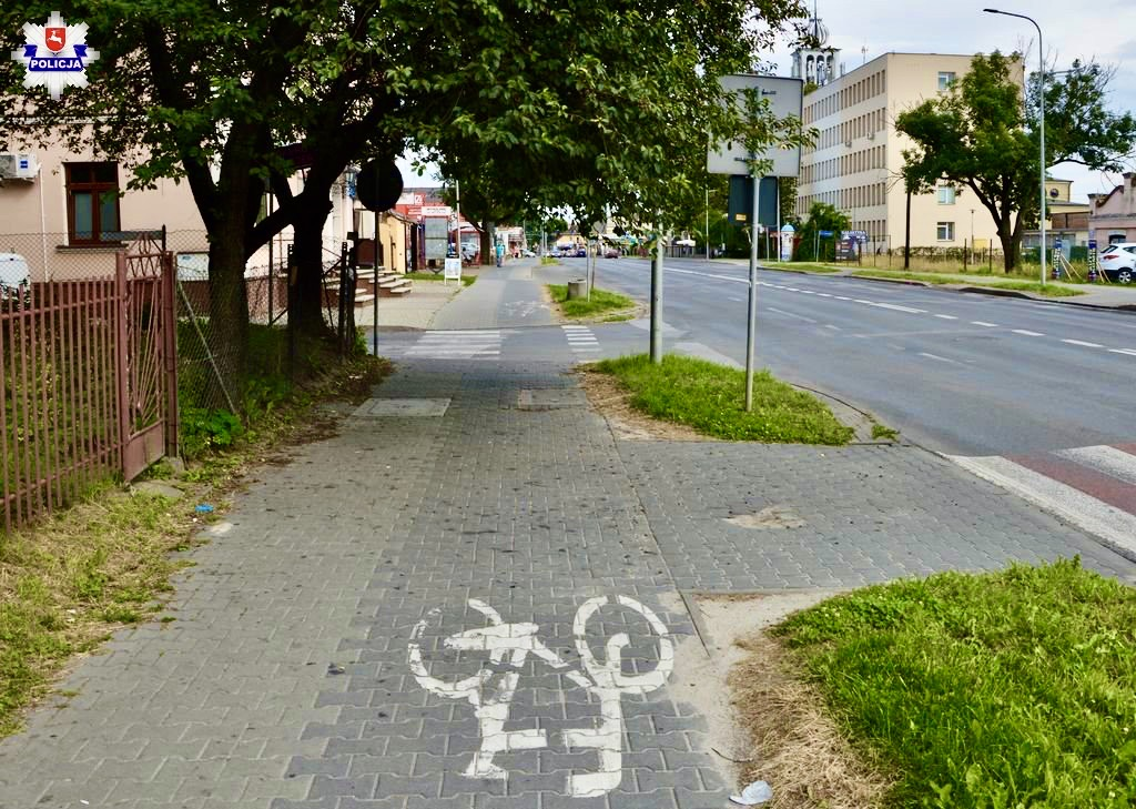 68 171877 Zamość: wypadek na ścieżce rowerowej